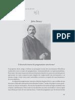 DEWEY, J. O Desenvolvimento Do Pragmatismo Americano
