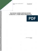 Nociones sobre disposiciones comunes a todo procedimiento (Maturana 2015)(1).pdf