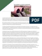 Las Aguas Residuales y Sus Efectos Contaminantes