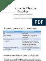 Propuesta Junta 8-04-19 Plan de Estudios Profesorado y Licenciatura (LV)