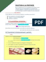1 - Introduction Prothese Modifié