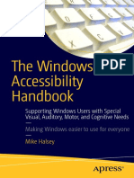 The Windows 10 Accessibility Handbook - Supporting Windows Users with Special Visual, Auditory, Motor, and Cognitive Needs.pdf