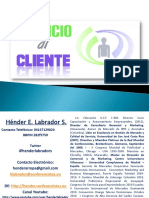 Servicio Al Cliente y Satisfaccion Mercados