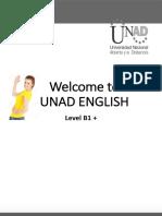 English UNAD level B1+