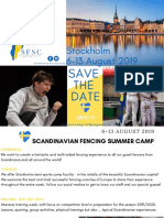 Scandinavian Fencing Camp