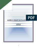 Apple Strategic Supply Chain Management