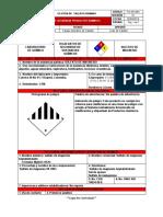 Fo-gh-064 Hoja de Seguridad Productos Quimicos 1