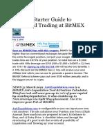 Bitmex Leveraged Trading- Hackernoon