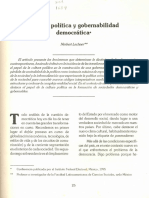 Problemas de Ciencia Pol. y Econ. Primera Lectura