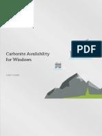 AvailabilityWindowsUsersGuide.pdf