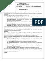 KPI Assignment