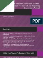 powerpoint idaho standards  draft