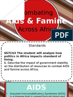 combating aids and famine across africastudentversion