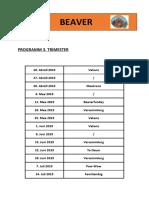 Programm 3 Trimester 2018-19