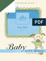 NIV Baby Gift Holy Bible Sampler