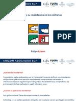 Ponencia 2 Felipe Arizon Incoterms 25 Septiembre