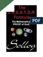 The Creator Formula - The Proof of God! (Sample)