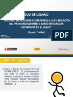 GUIA DE USUARIO - REGISTRO DE ACCIONES POSTER. A LA PUBLIC. DEL PRONUNCIAMINETO Y BASES INTEGRADAS DEFIBNITIVAS EN EL SEACE.pdf