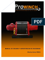 Prowinch Huinche Electrico Manual Huinches Series Pwkdj 613712
