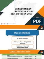Materi Tungsura PEMILU 2019