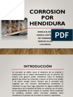 Por Hendidura