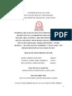 221508910 Incidencia Del Juego en Zona en El Proceso de Aprendizaje Significativo