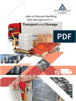 Guide on Manual Handling Risk Management in Transport and Storage