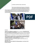 Causas Por Los Guatemaltecos Salvadores y Hondureños Emigran a Estados Unidos