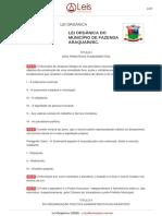 Lei Organica 1 2000 Araquari SC