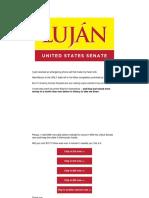 Beb Ray Lujan for US Senate - My Heart Just Sank