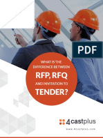 What's the Difference Between RFP, RFQ and Invitation to Tender (1)