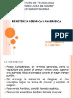 Resistencia aerobica y anaerobica