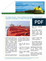 100901 Paris and Black Sea Mous Concentrated Inspection Campaign on Tanker Damage Stability