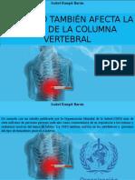 Isabel Rangel Barón - El Tabaco También Afecta La Salud de La Columna Vertebral