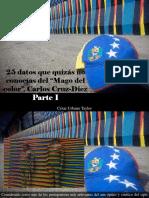 """César Urbano Taylor - 25 Datos Que Quizás No Conocías Del """"Mago Del Color"""", Carlos Cruz-Diez, Parte I"""