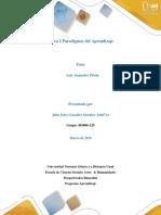 Trabajo Individual Unidad 2 Aprendizaje Paradigmas John Gonzalez Grupo 403006-129