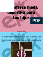 Alexandra Azpúrua - EPK Ofrece Moda Deportiva Para TusHijos