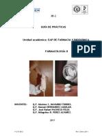 Guia de Practicas Farmacologia II 2017-1-