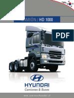 ficha HD1000 2011