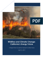 Newsom s Wildfire and Climate Change Report