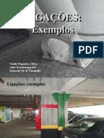 Conexoes 3 - Exemplos, Ligações de Travamentos e Ligações de Pilares - 2014