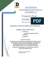Proyecto Final Reacion de Ambientes de Aprendizaje