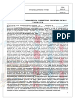 Acta Definitiva de Entrega c. r. Arrayanes