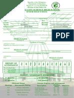 G11 STEM-Senior High- SciHigh Form 138