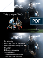 Yuliana Yepes Tobón Rugby