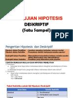s8. Pengujian Hipotesis Deskriptif