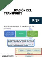 PLANIFICACIÓN DEL TRANPORTE