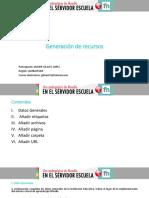 Apellidos y Nombres Módulo III Generación de Recursos 1