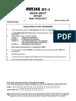 BITSAT REVISION TESTS.pdf
