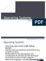 1.2 Operating Systems and DOS